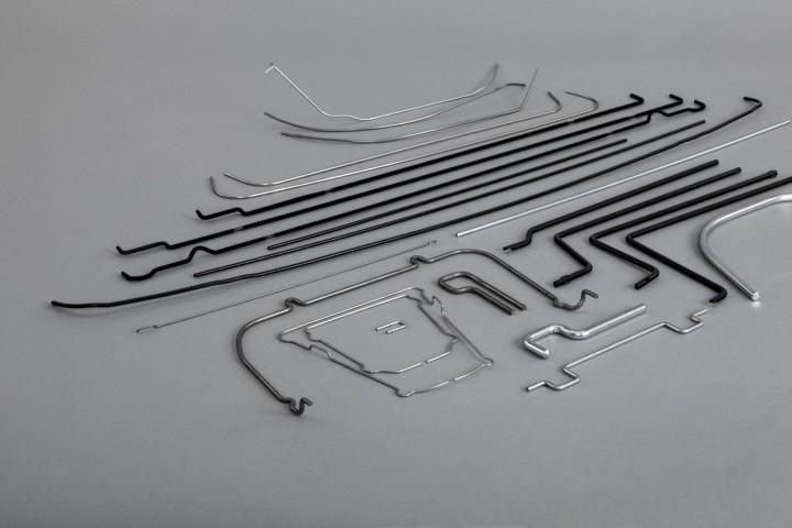 Wire-bent parts